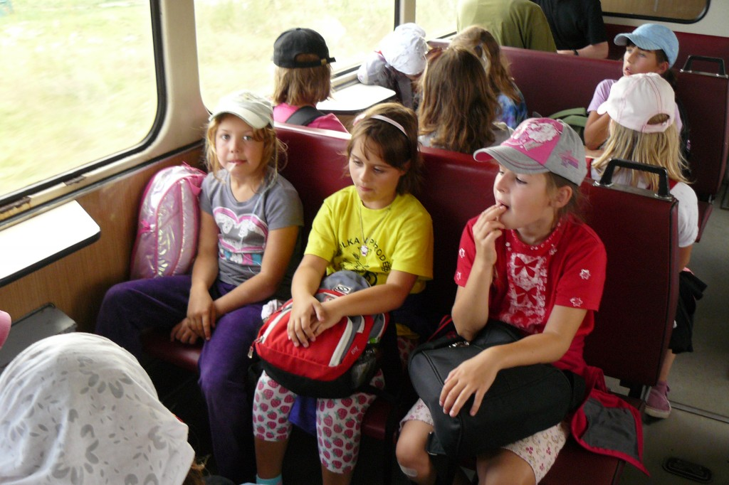 (foto z vlaku)